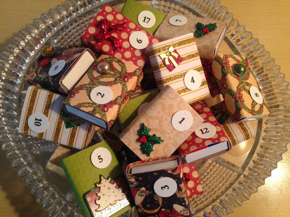Small Matchbox Advent CalendarSmall Matchbox Advent Calendar
