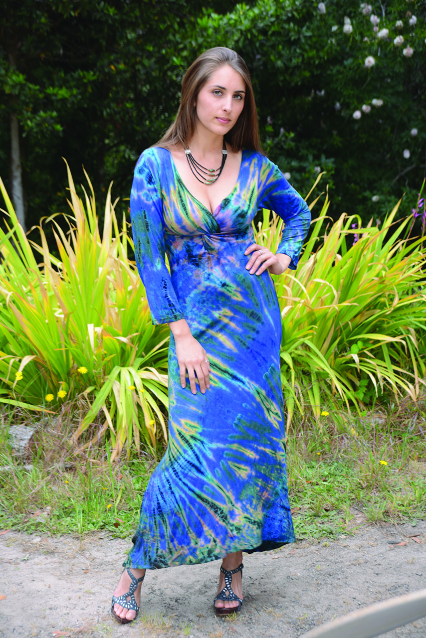Tie Dyed Maxi Dress Jayli