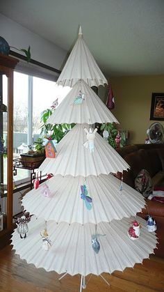 Parasol Alternative Christmas Tree