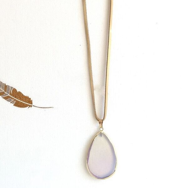 Opalite Necklace by Presh