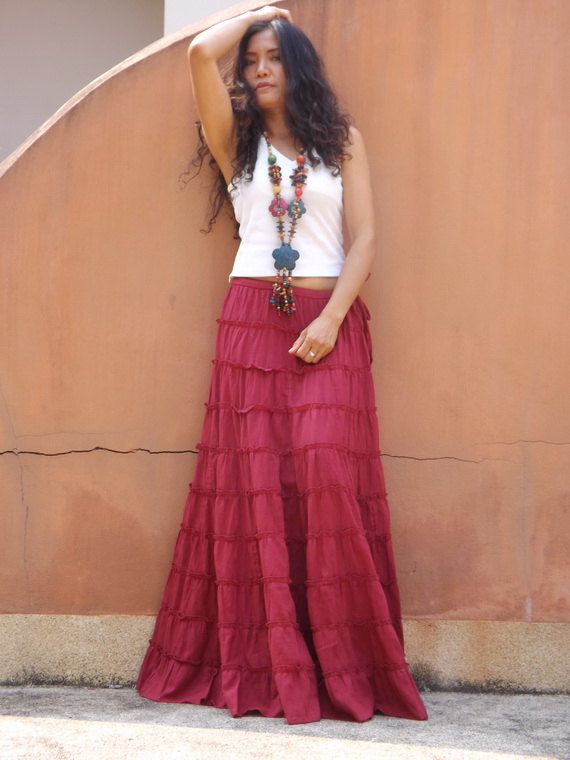 10 tiered skirt by Ablaa