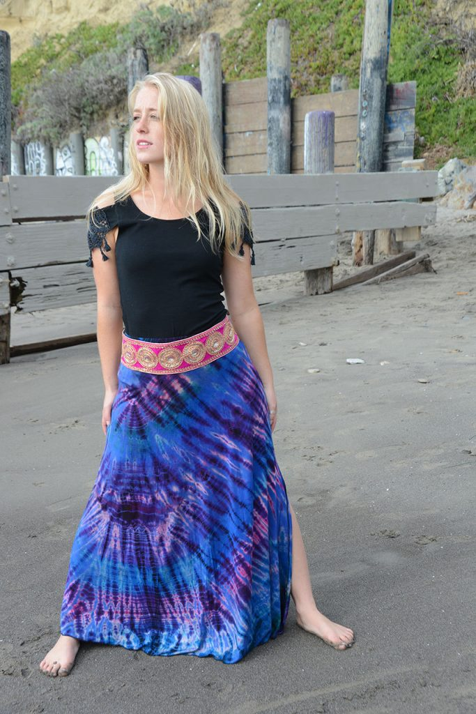 mudmee maxi skirt by Jayli