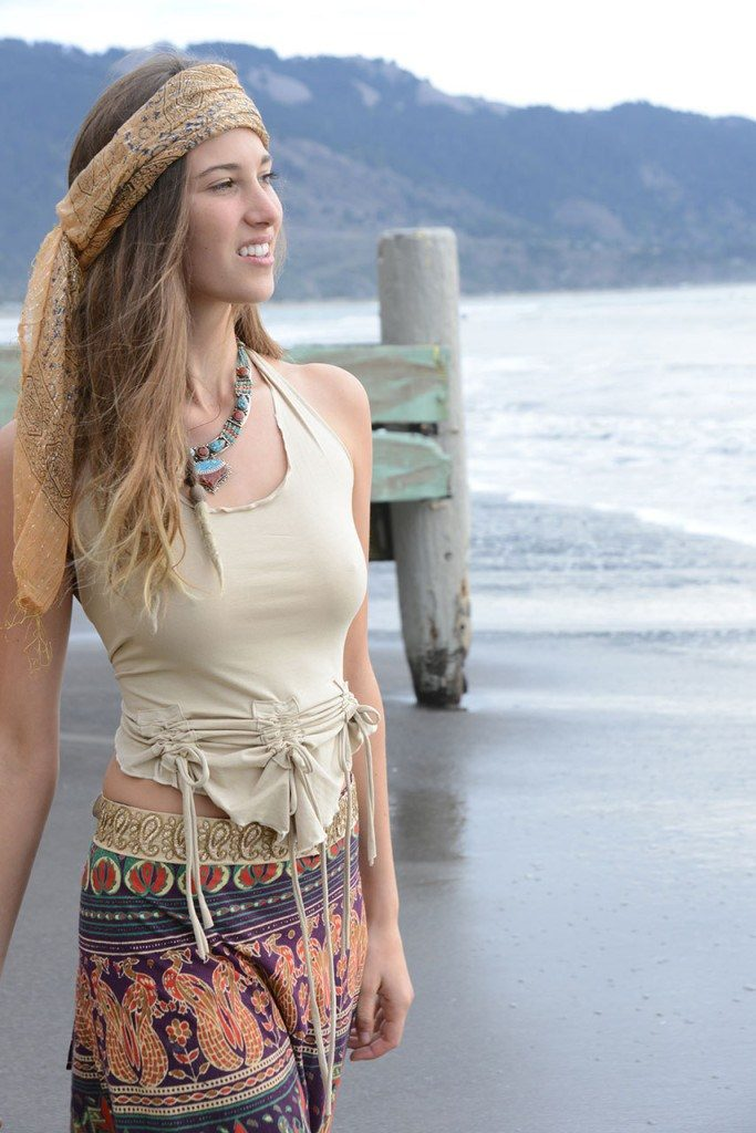 hippie head scarf