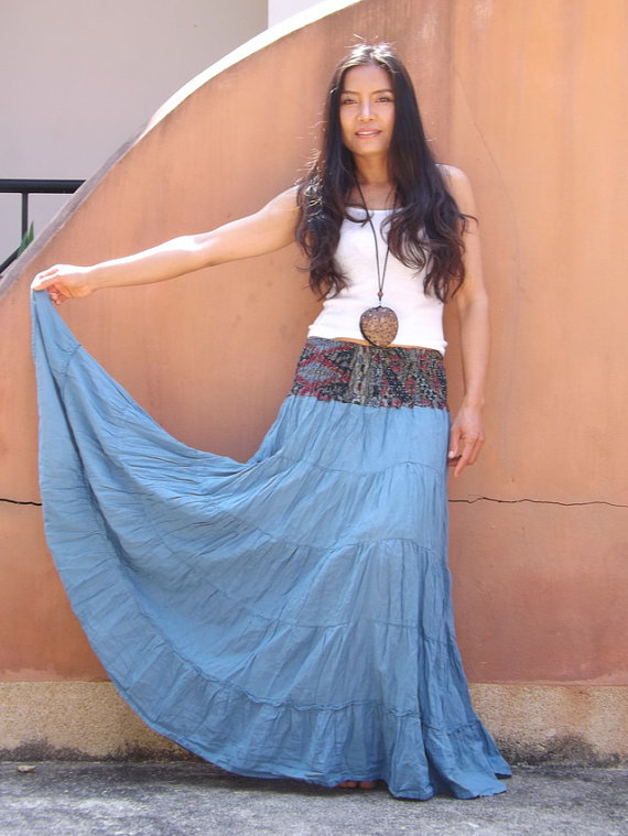 maxi skirt by ablaa
