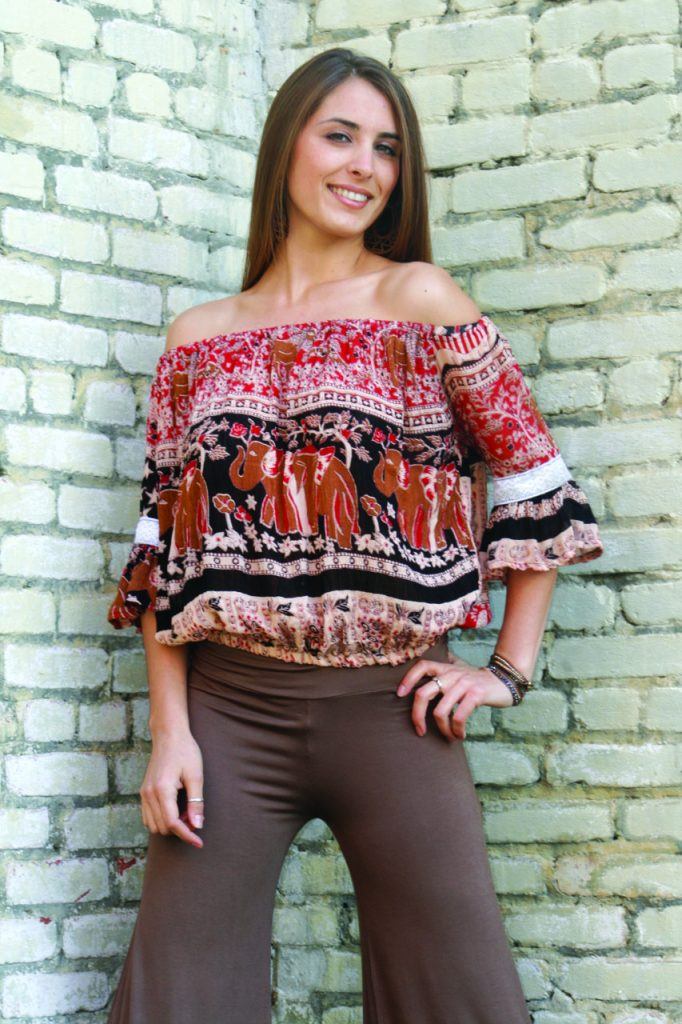 peasant blouse by Jayli clothing