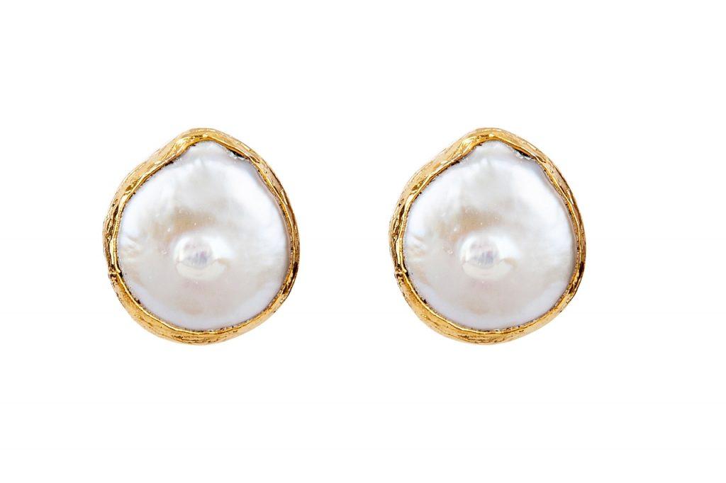 margot post earrings with pearls Presh