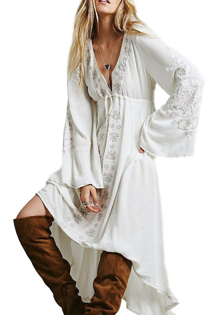 hippie peasant dress