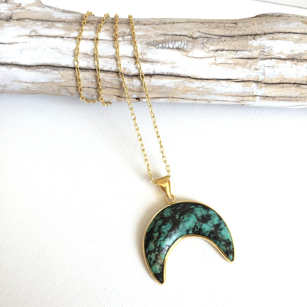 moon necklace by Presh