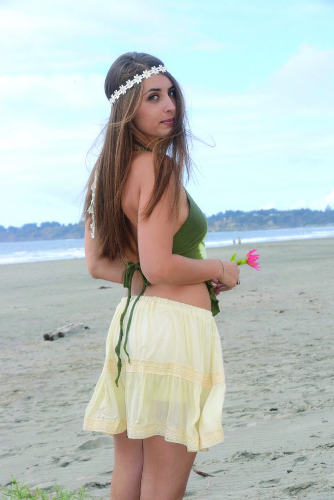 Jayli hippie skirt