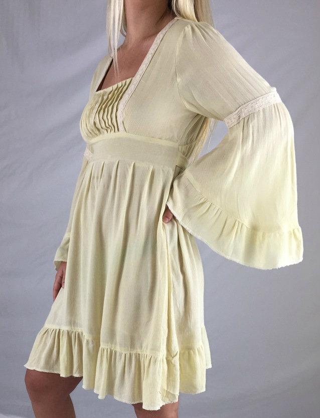 peasant hippie dress by Jayli