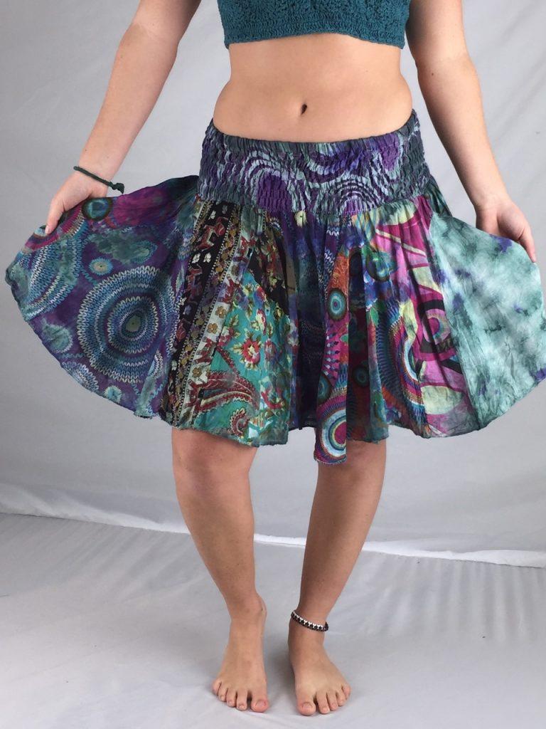 Jayli Jaipuri Patchwork skirt