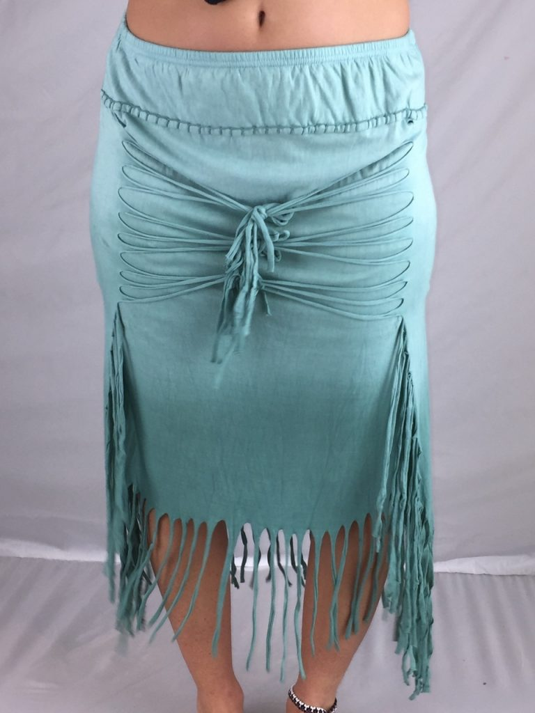 hippie tassel skirt by Jayli