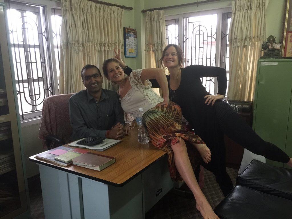 Arjuns Office in Nepal