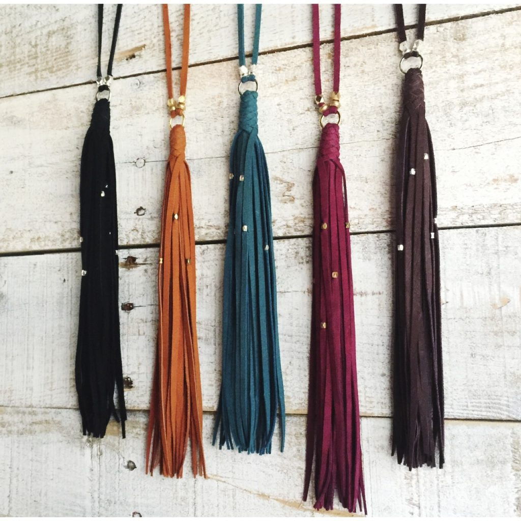 Gypsy Tassel necklace by Presh