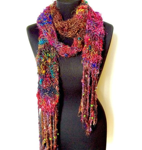 silk hippie scarf