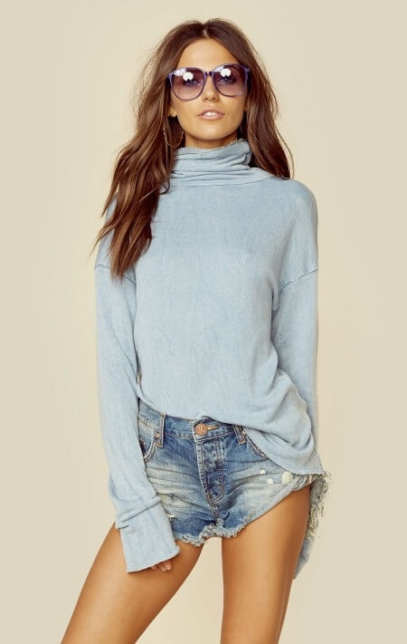 boho sweater beach cozy