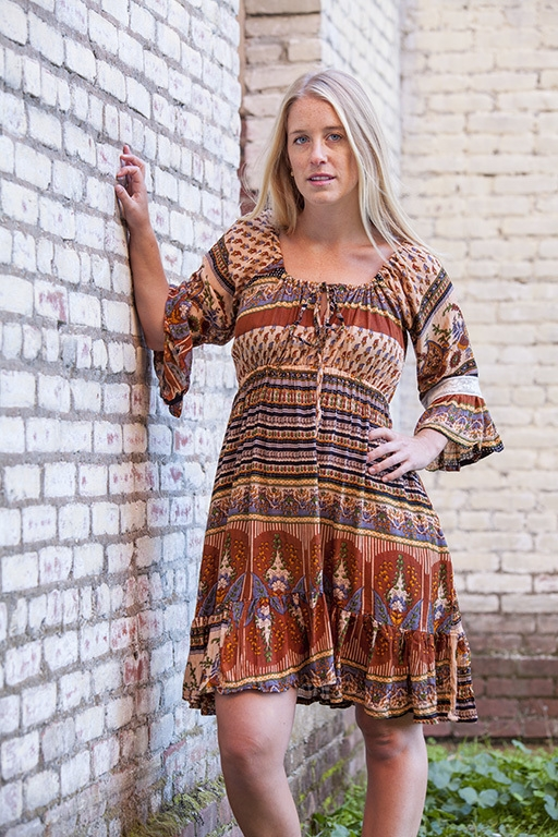 peasant dress by Jayli